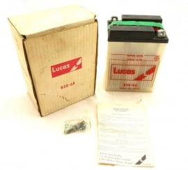 Lucas battery 6-volt motorcycle type B38-6A