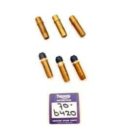 Triumph  T150 - T160      BSA A75     Valve guides    Set of 6     Opn 70-6420