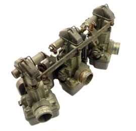 Benelli 750 Sei Gruppo carburatore comp. carburettor set of 3 (239.055.0.799) = (63.11.26.00)
