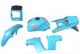 Jawa 350 Twin Body-kit complete set to fit 640 Style (less seat)(Blue)
