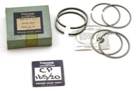 "Triumph 3TA-Tiger 90 OHV Twins 1957-1968 Piston ring set oversize .020"" (58.75mm diameter)"