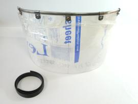 Watsonian-Squire windscreen c/w alloy trim & rubber band