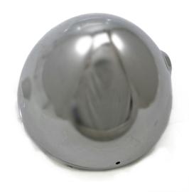 "Lucas type 7"" chrome headlamp shell & rim for British bikes"