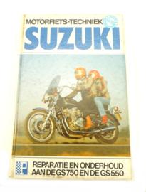 Suzuki GS750 GS550 workshop manual (ISBN 9061271983)