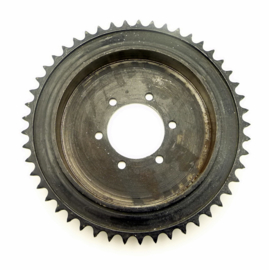 BSA DBD34 Rear wheel drum & sprocket for QD hub 49 T 5/8x3/8 chain (67-6124)