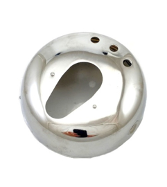 BSA A65 OIF Lucas type chrome head lamp shell & rim (19-1351-52)