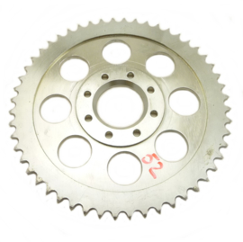 Wasp sidecar cross Rear wheel sprocket steel, anodised disc type, 530 chain 52T