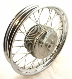 "Velorex side-car wheel, wide rim 2.15-16"" complete (620 51 360 + 620 51 260)"