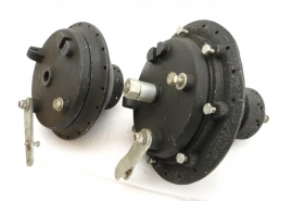 Wassell-Sprite-Dalesman conical hub pair complete