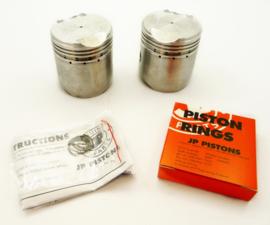 Norton Dominator 88 Pair of oversize pistons (66.5mm), Partno. 25126-25130 (06.7145)