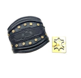 Royal Enfield real leather Wristband
