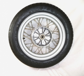 Velorex side-car wheel wide version complete incl tyre