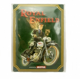 Royal Enfield Tin sign metal plate poster