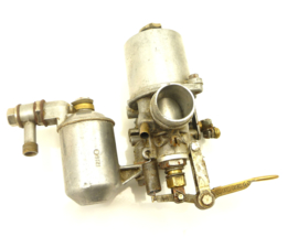 Ariel Square Four SU carburettor & Burgess filter assy
