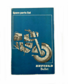 Royal Enfield Bullet 350 Spare-parts list 1983 -
