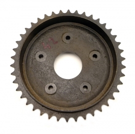 AJS - Matchless brake drum - rear wheel sprocket 42 T (02-5225)