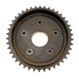 AJS - Matchless brake drum - rear wheel sprocket 42 T (02-5225)