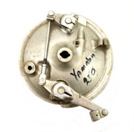 Yamaha RD 200 Duplex front brake plate 180 mm