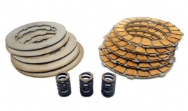 CZ Singles complete set of 10 clutch plates & 3 springs (355-28-040 / 355-28-020 / 150-28-004)