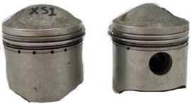 XS1 650 Twins  Std pistons cplt high compression Part no: 256-11631-04