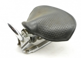 Rubber spring pillion saddle (for BMW DKW etc.)