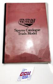 CCM TR350 Spare parts catalogue vol 1.