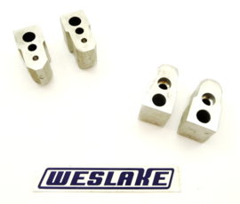 Weslake 500-750-850-920 8-V Twins Rocker shaft pedestal inlet + exhaust W157-W158