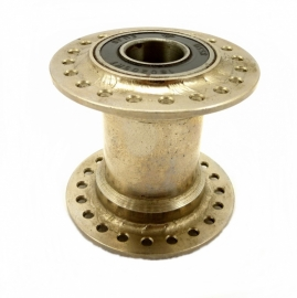 Sidecar wheel hub steel nickel plated 40 H