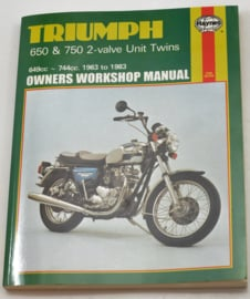 Triumph 650-750 Haynes manual