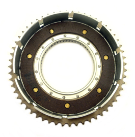 Royal Enfield Bullet 350 Clutch chainwheel c/w bearing 3 - plate version (111134)