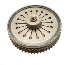 Norton Commando 750 - 850 Clutch complete (diafragm-type) (06-4644 / 06-2481)