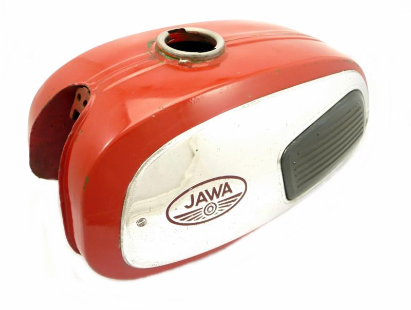 Jawa 350 Twin type 634 petrol tank (Red)  (4519 634 39089)