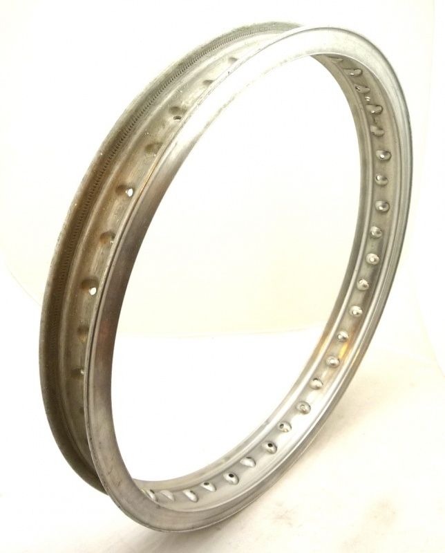 """Akront alloy rim 21"""" x 1.60"""" 40H for Greeves MX , British Hub and Norton FW hubs"""