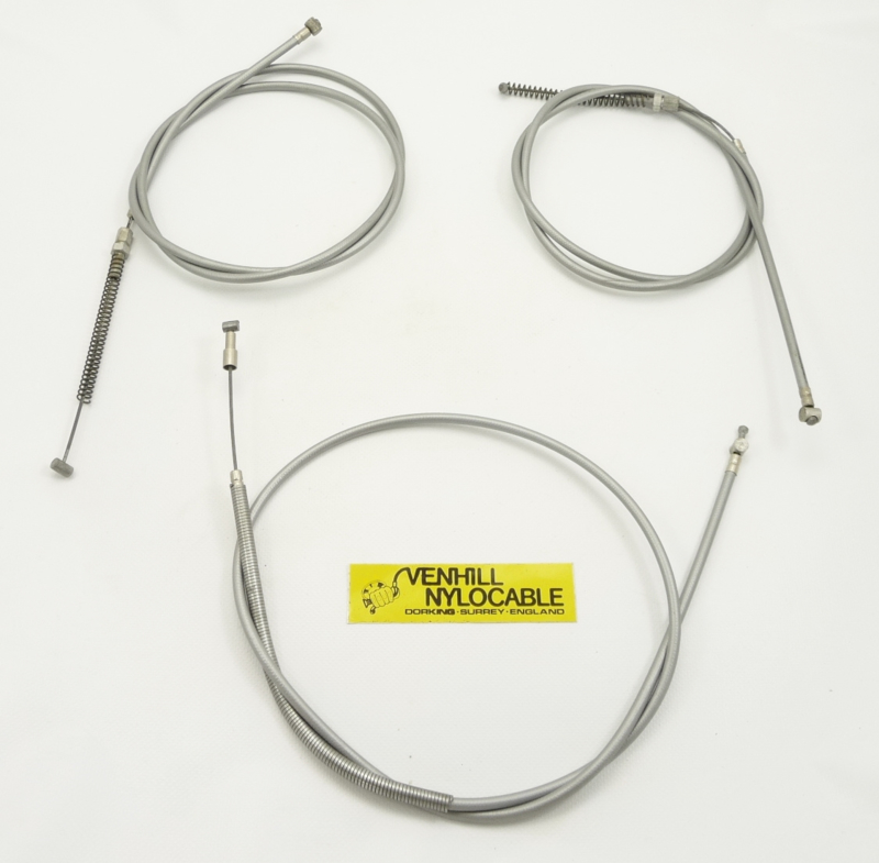Venhill Nylocable Husqvarna 250-400 MX Clutch cable, set of 3