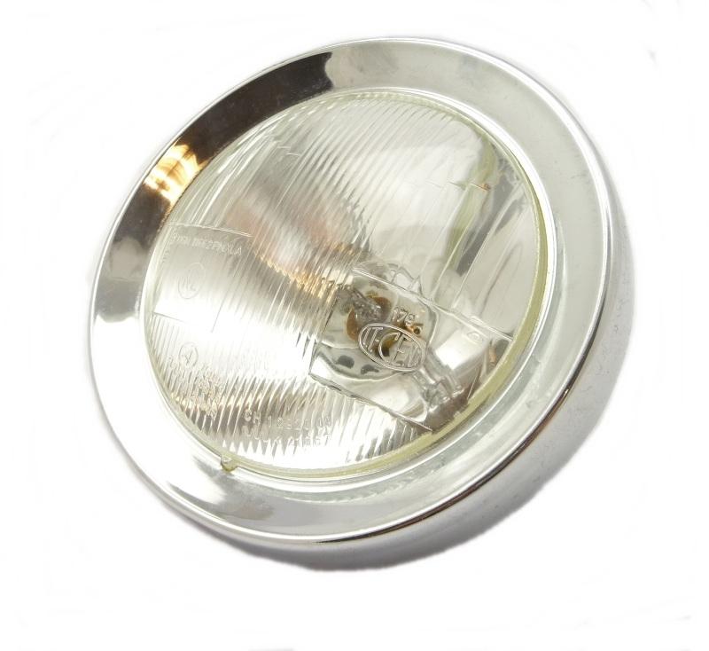 CEV headlamp beam unit and chrome rim DMG 11662 PMXLA (460131)