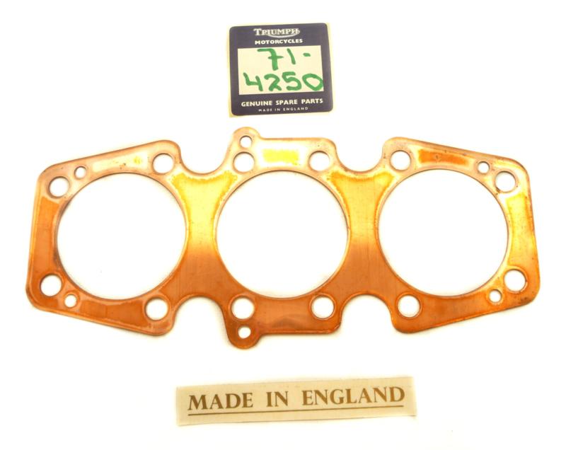 BSA A75 / Triumph T150-T160 Copper cyl. head gasket, Partno. 71-4250