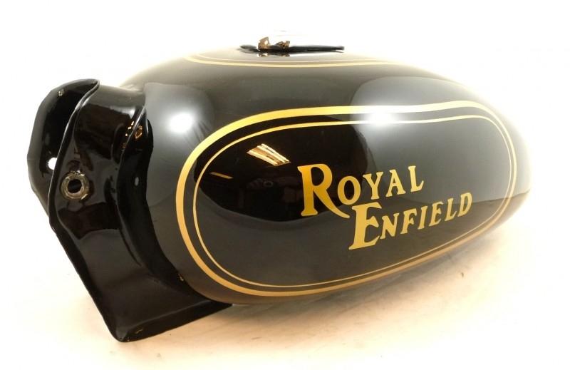 Royal Enfield Classic Bullet Black Petrol Tank