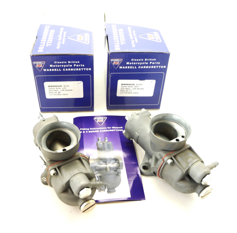 Wassell Concentric Pair of carburettors (932L - 932R)