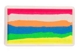 PXP 28 gram splitcake neon pink - neon white - neon orange - neon blue - neon yellow