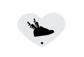 Mini stencil S&P schoen
