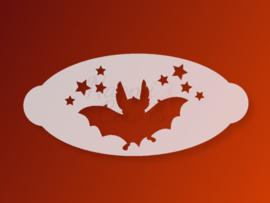 N4C sjabloon Halloween Vleermuis