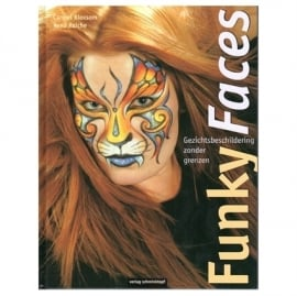 "Boek Funky Faces ""Tiger"""