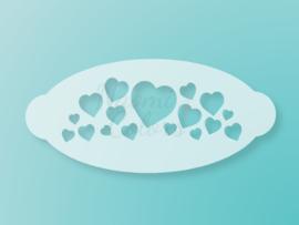 N4C sjabloon Valentijn hartjes