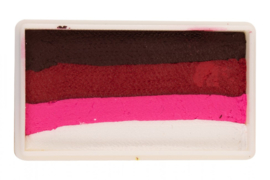 PXP 28 gram splitcake dark red - ruby red - neon red -white
