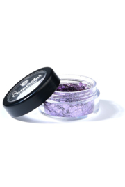 Chunky mix biodegradable violet