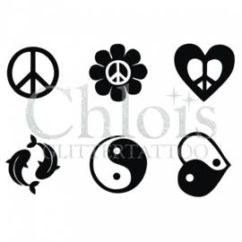 Chloïs peace (multi stencil 6)