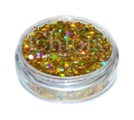 Glitter flakes gold