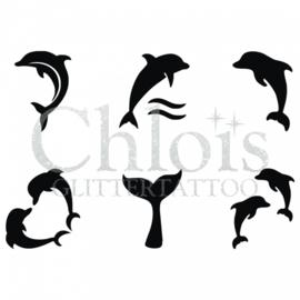 Chloïs dolphin (multi stencil 6)