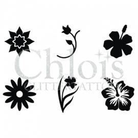 Chloïs flowers (multi stencil 6)