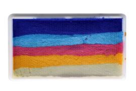 PXP 28 gram splitcake blue | light blue | old rose | yellow | white